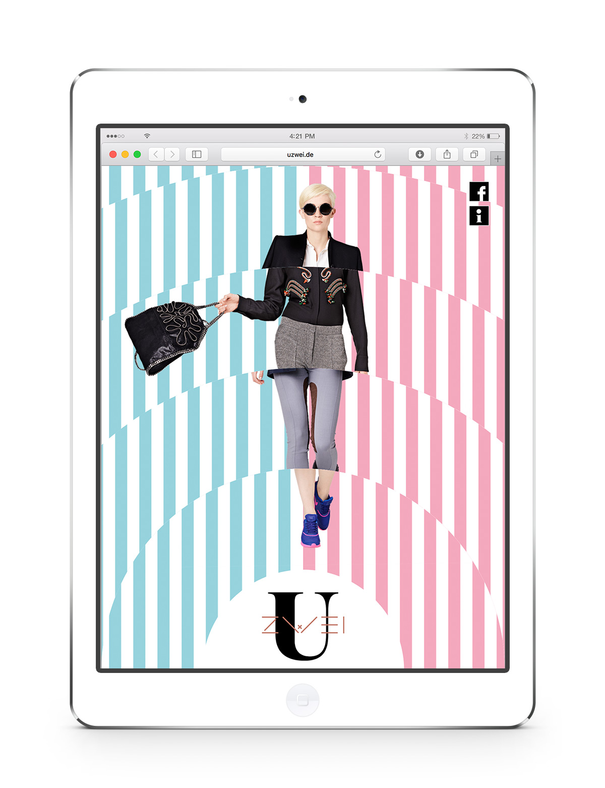 Uzwei Website Design