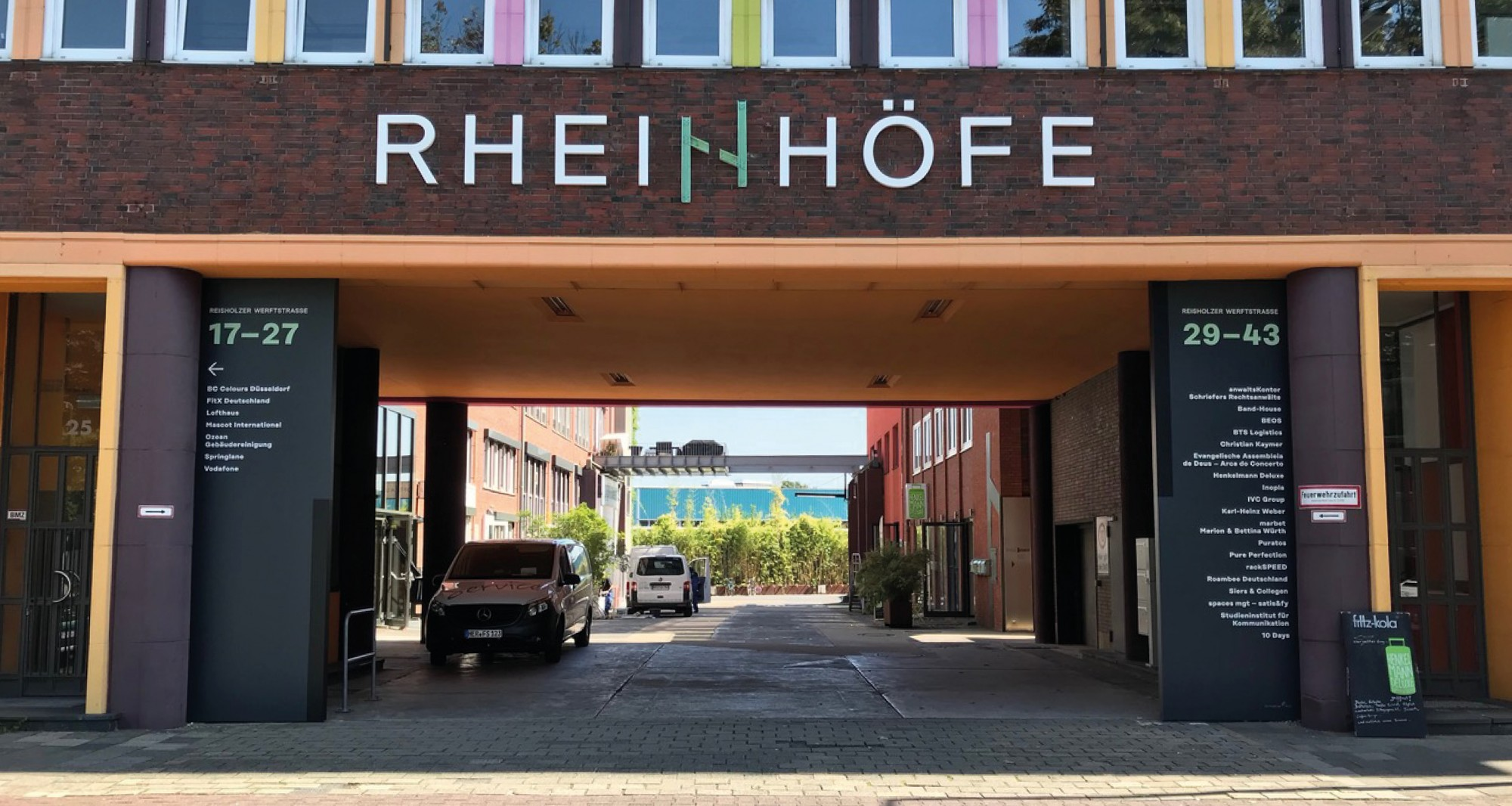 Rheinhöfe Wayfinding